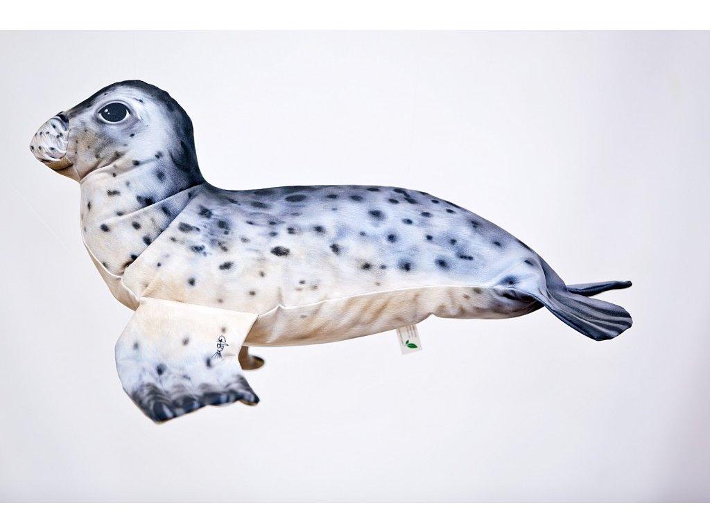 Tuleň - 55 cm polštář