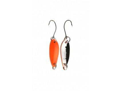 Třpytka - Mini - 2.4 cm - 1.5 g / Oranžová - Stříbrná 1 ks