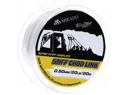 Návazcový vlasec - STIFF CHOD LINK 15LBS 0.40M / 20M - bal.1ks