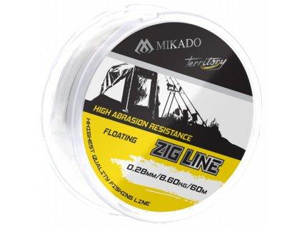 Vlasec -TERRITORY ZIG LINE 0.28mm / 8.6kg / 60m - bal.1ks