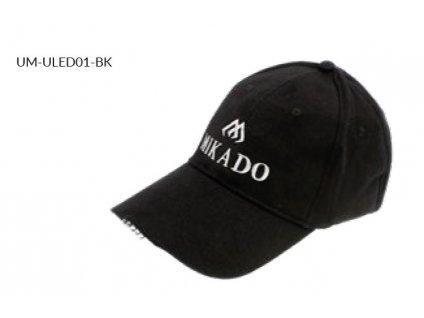 LED Kšiltovka MIKADO - Černá (BASEBALL)