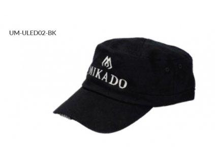 LED Kšiltovka MIKADO - Černá (CASTRO)