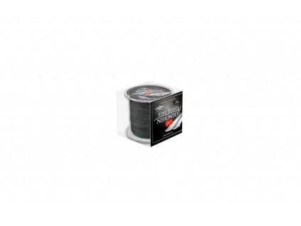 Pletená šňůra - LINE NIHONTO FINE BRAID  010 Černá 300M Nosnost : 7.70kg