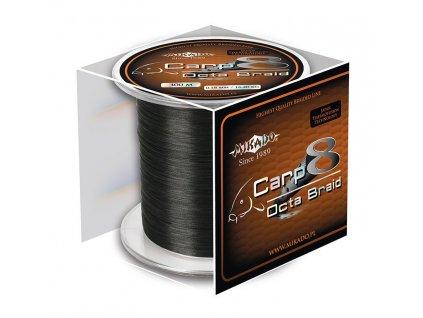 Pletená šňůra - CARP OCTA BRAID 026 Černá 1200M Nosnost : 22.60 kg