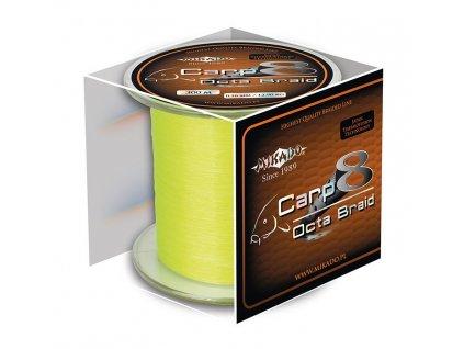 Pletená šňůra - CARP OCTA BRAID 026 FLUO 1200M Nosnost: 22.60 kg