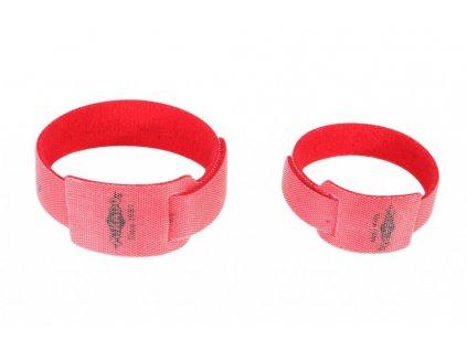 Pásek na  udici - ROD BINDER 225 x 24 x 14 mm – 10ks - suchý zip