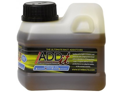 Zálivka Startbaits - Add'IT Sardine Oil 500ml Add'IT Sardine Oil 500ml
