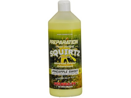 Booster PREP X SQUIRTZ PINEAPPLE SWEET 1L - STARBAITS