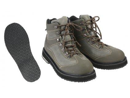 Brodící boty s gumovou podrážkou - vel. 46