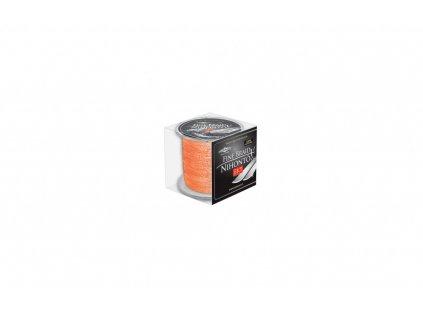 Pletená šňůra - LINE NIHONTO FINE BRAID  040 Oranžová 300M Nosnost: 34.90kg