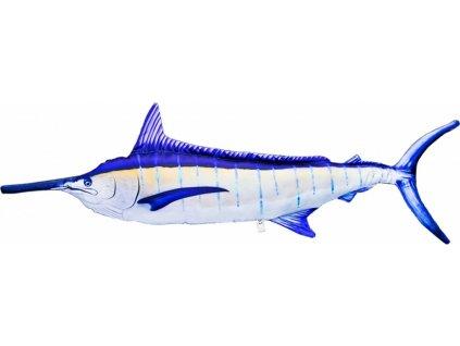 Marlin se žlutým pruhem Giant - 118 cm polštář