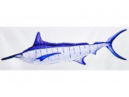 Marlin modrý Giant - 118 cm polštář