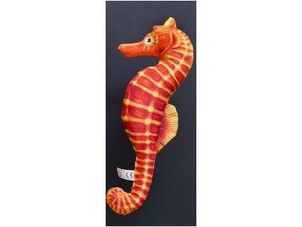 Mořský koník  mini - Červený - 40 cm polštářek