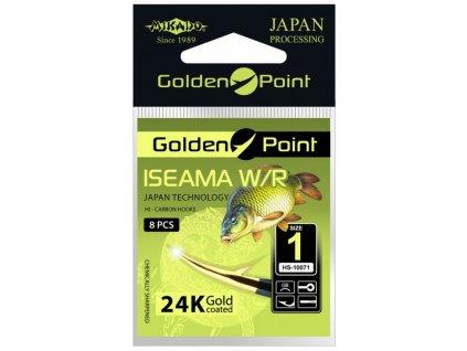 Háčky GOLDEN POINT - ISEAMA  8 GB Očko - 10 ks