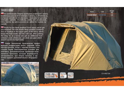 """OWERWRAP FOR TENT """"THE FINE LINER"""" - SHADER WRAP"""
