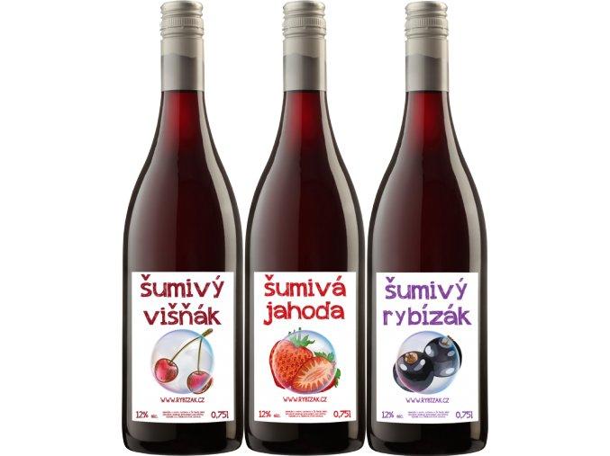 Šumivá ovocná vína