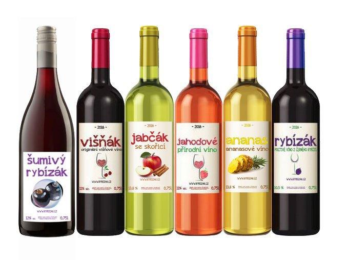 Vína ve skle