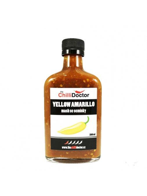 Aji Amarillo mash  Chilli mash se semínky 200 ml