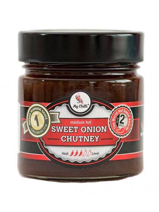 Sweet onion chutney  Cibulové chutney