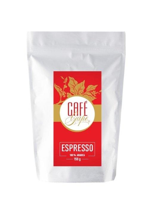 Café Gape - Espresso 150g  Mletá káva z české pražírny