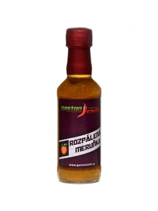rozpálená meruňka