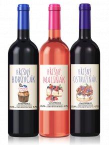 Balíček dezertních vín  16,5% bez siřičitanů