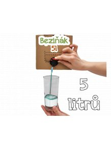 Bedna plná Beziňáku 5l  Bag in box - 5l