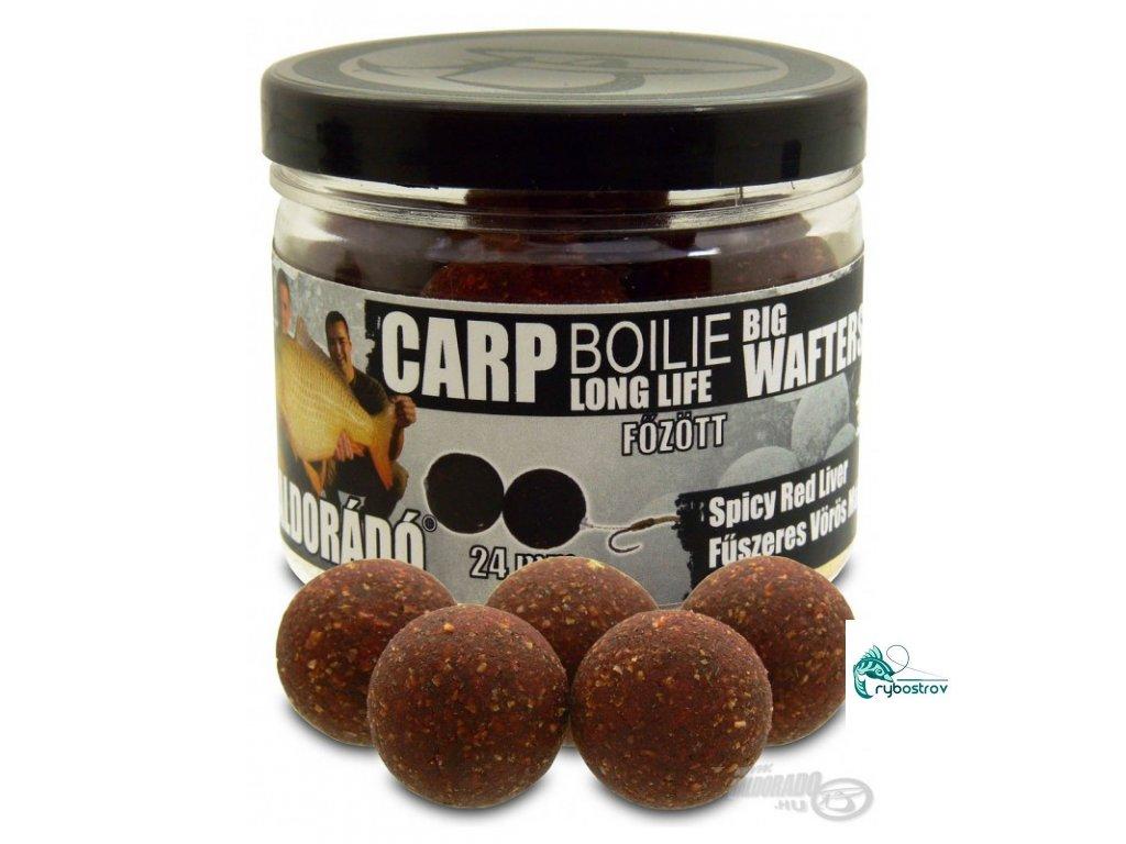 haldorado carp boilie big wafters spicy red liver 600x800