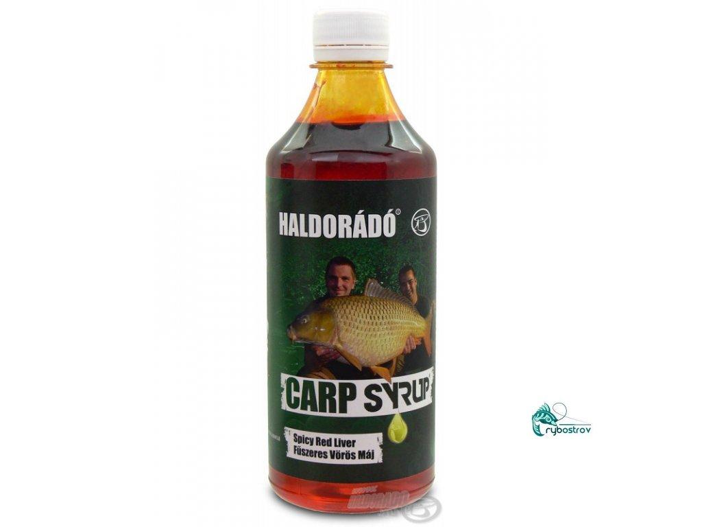 Haldorádó Carp Syrup - Korenistá Červená Pečeň/Spicy Red Liver