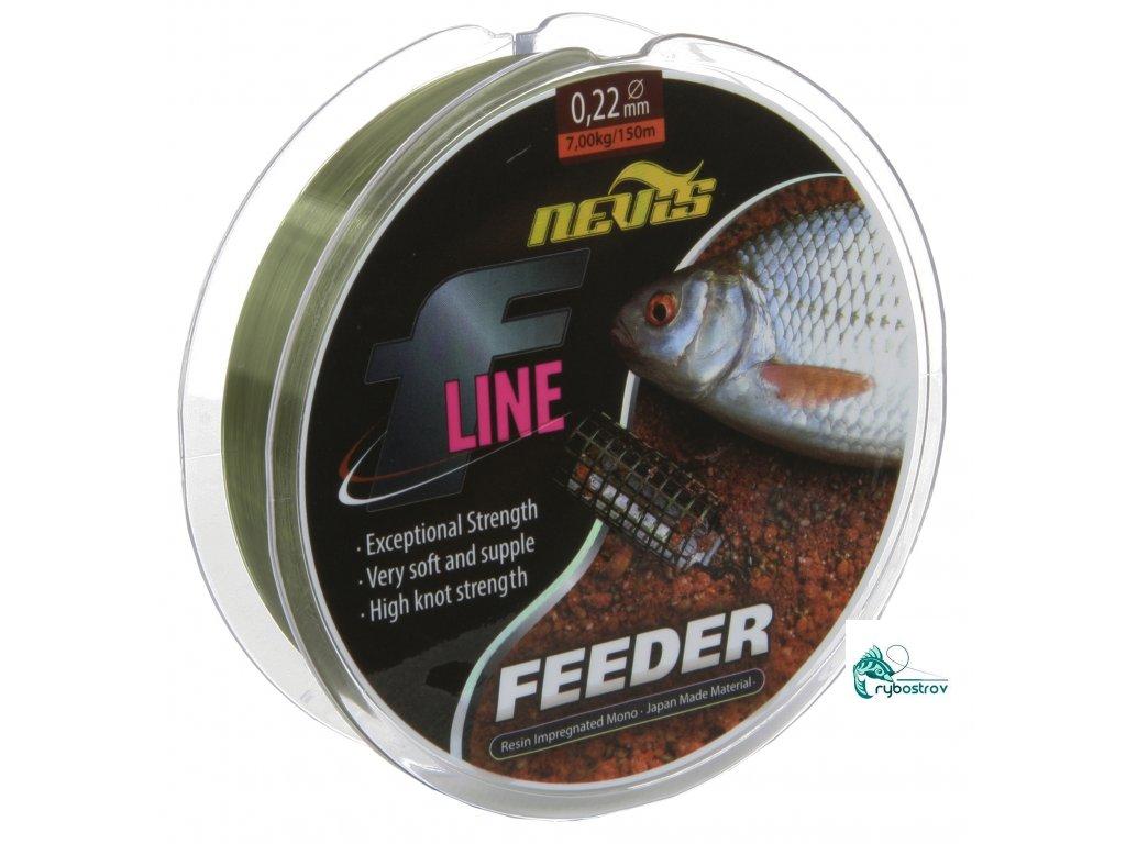 Nevis F-Line Feeder 150m / 0,20mm 0,22mm 0,25mm 0,28mm 0,30mm