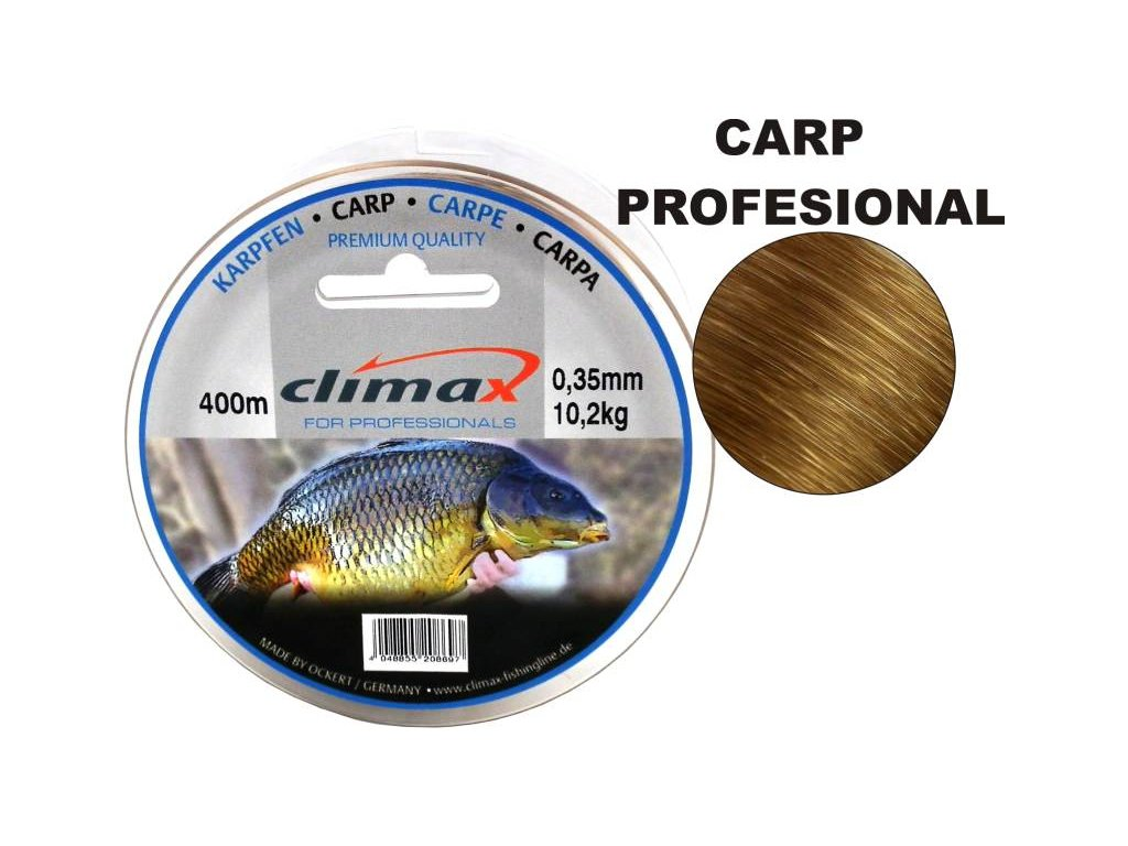 Climax Species Carp Profesional 400m 0,25mm, 0,30mm a 0,35mm