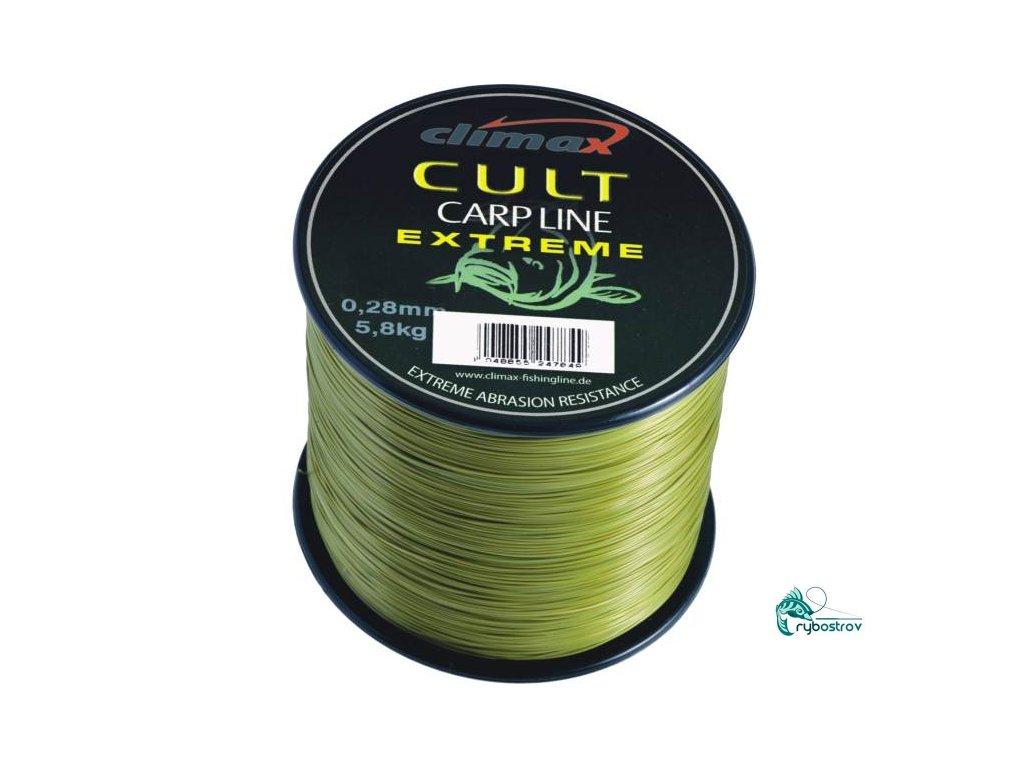 Silon Climax Cult Extrém 1200m Mattolive 0,28mm a 0,30mm