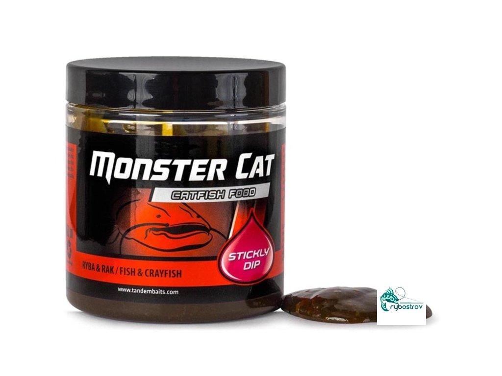 Monster Cat Stickly Dip 150ml Black Halibut