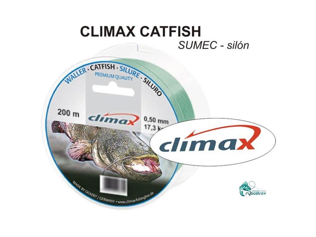 Climax Species Catfish zelený 200m 0,60mm 19,50kg