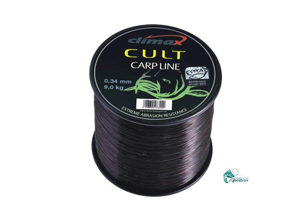 Cult Carpline black silon 600m 0,30mm