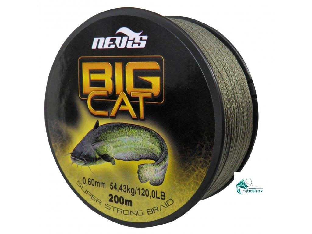 Nevis BigCat pletená šnúra 200m / 0,50mm