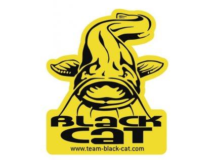 Nálepka Black Cat so sumcom