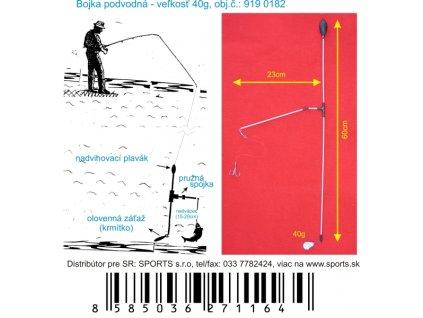 Podvodná bójka 40g/60cm/23cm