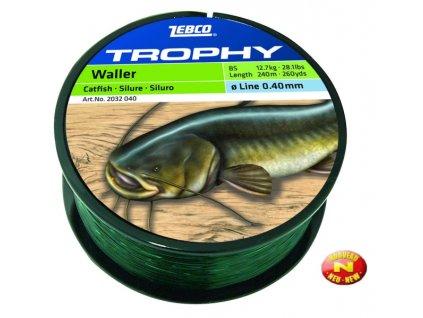 Zebco Trophy Catfish sumcový silón 0,60mm, 0,45mm