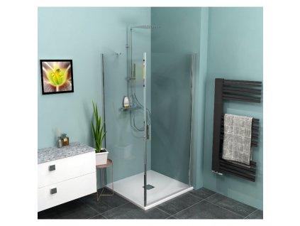 Čtvercový sprchový kout