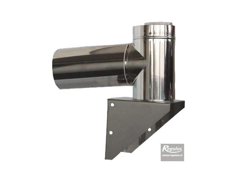 Inox fasádní pr. 80/125 PP, pro kondenzační kotle