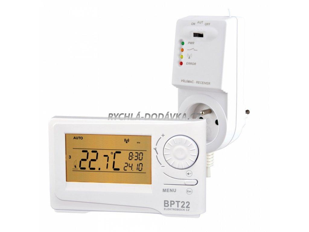 ELEKTROBOCK BT22 bezdrátový termostat -BT22