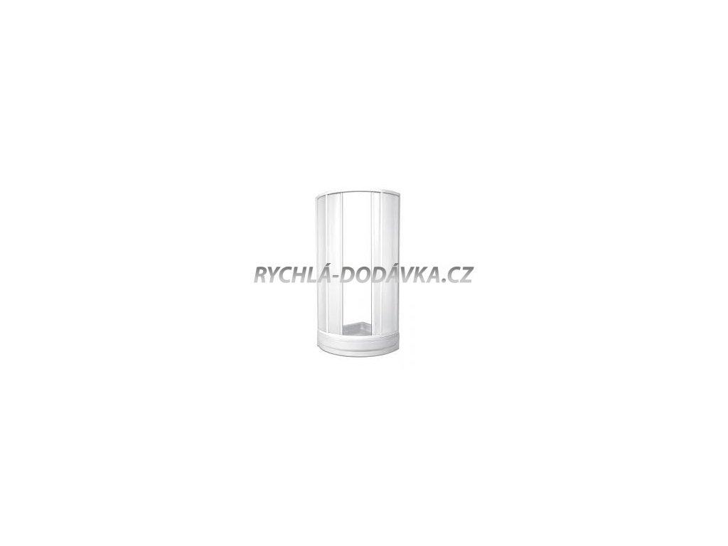 Teiko sprchová zástěna standard SKKH 2/80 R50 Gomera čiré sklo + water off-skkh280r50gomeracsklowoff