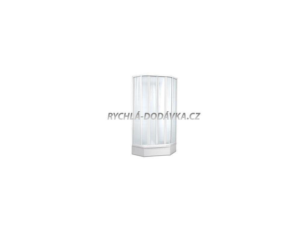 Teiko sprchová zástěna standard SKPÚ 4/90 čiré sklo-skpu490csklo