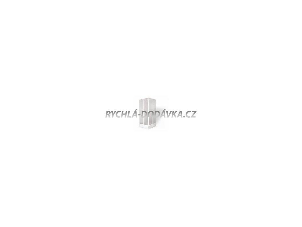 Teiko sprchová zástěna standard SKRH 2/80 čiré sklo-skrh280csklo