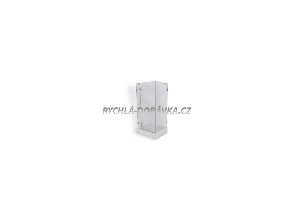 Teiko sprchová zástěna premium PSKDS 1/100 - 75 S L čiré sklo-psdks1100sl