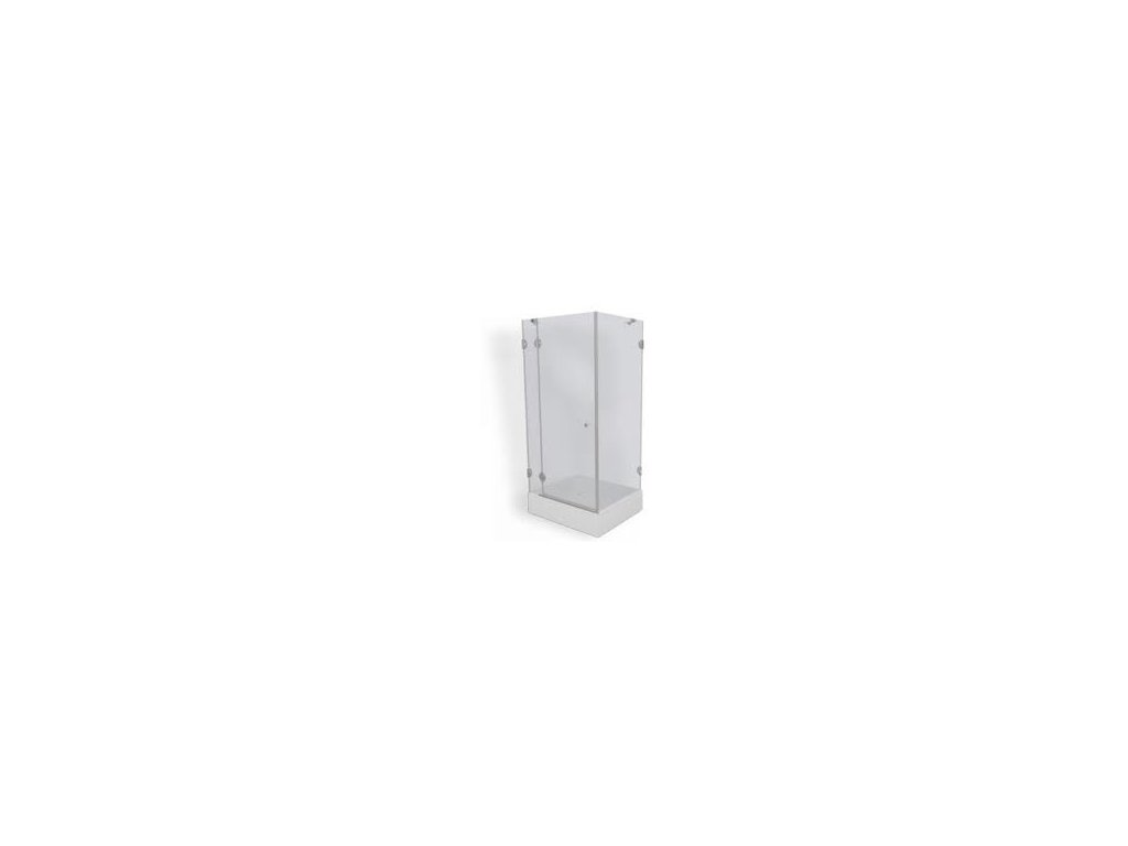Teiko sprchová zástěna premium PSKDS 1/90 S L čiré sklo-psdks190sl
