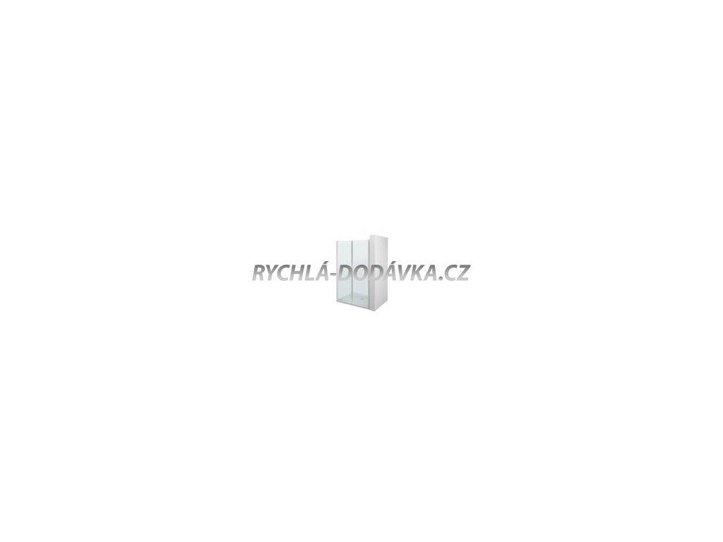 Teiko sprchová zástěna emotion ESDKR 2/100 S  čiré sklo-esdkr2100s