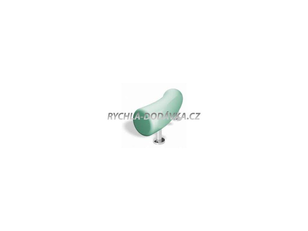 Teiko vana podhlavník zkosený zelený agais-VBPH010206