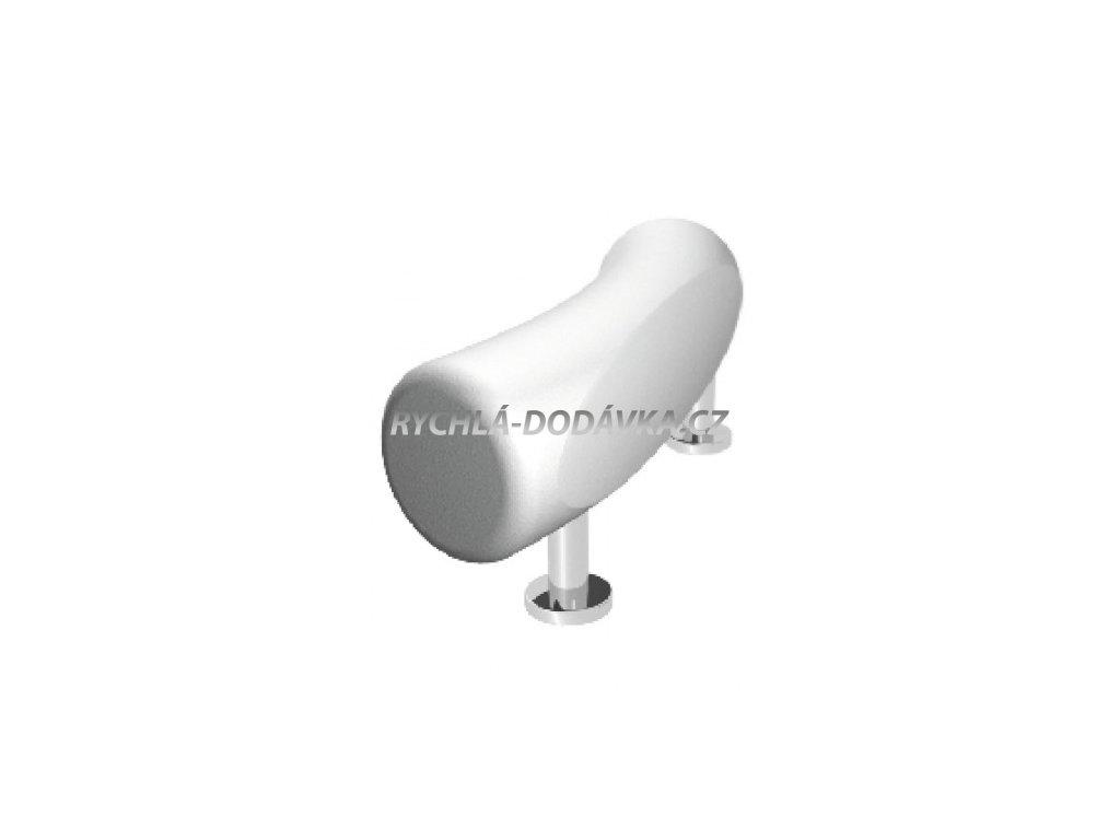 Teiko vana podhlavník zkosený bílý-VBPH010201